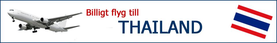 billiga flygresor thailand